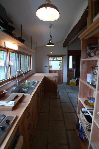 Y邸キッチン増築